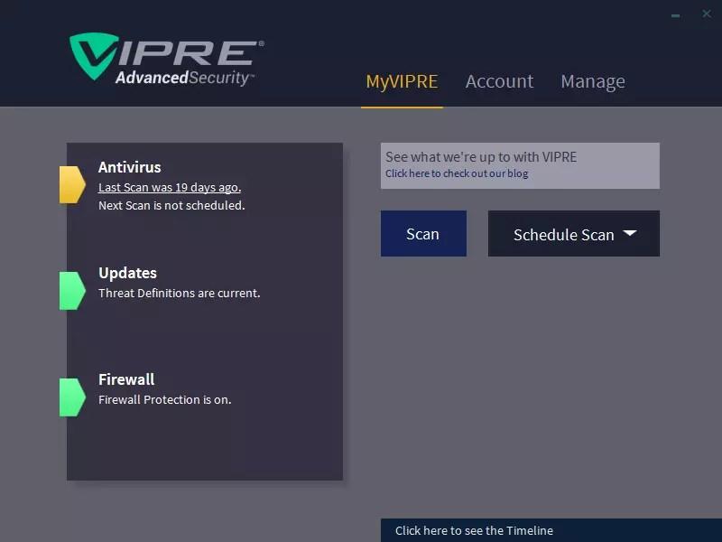 VIPRE AdvancedSecurity 11.0
