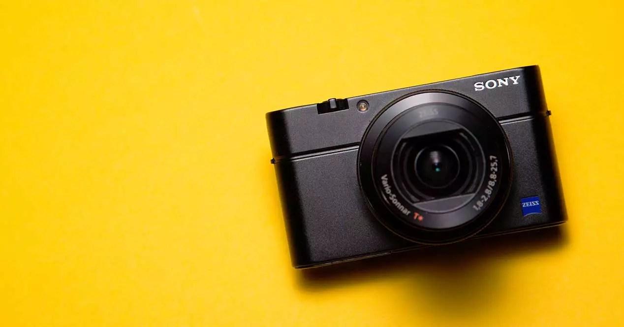 Tipos de cámaras: Compacta