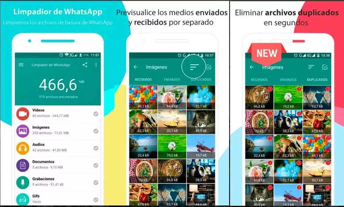 Cómo borrar archivos recibidos por WhatsApp