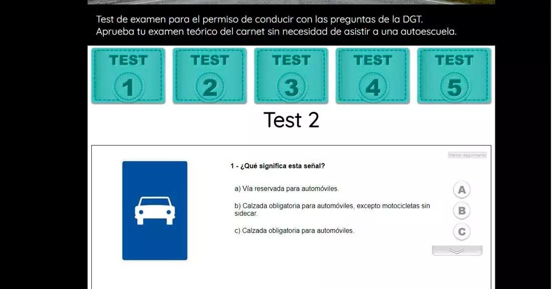 Teorico Test autoescuelas