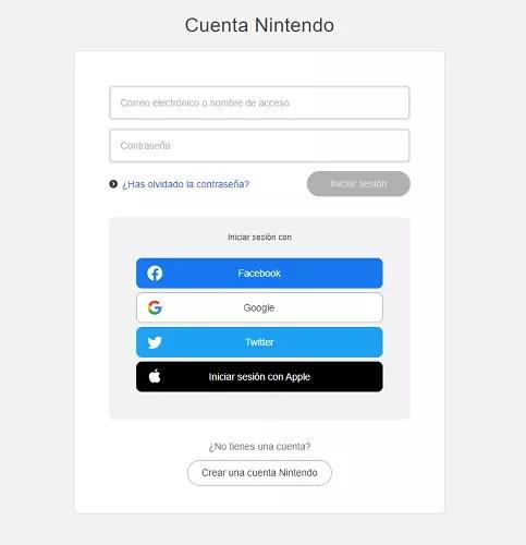Cuenta Nintendo