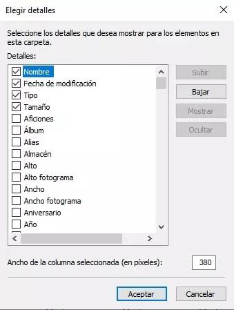 Organizar en Windows