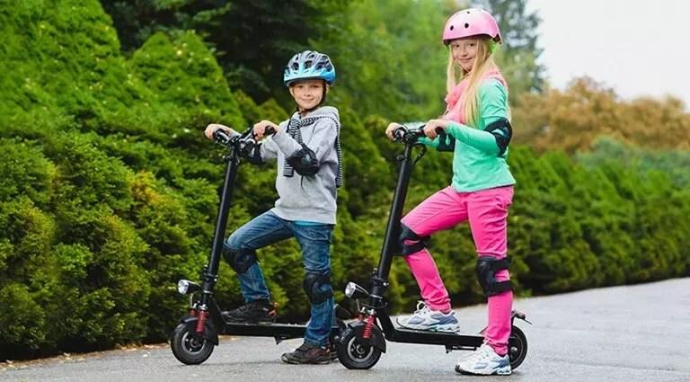 Patinetes eléctricos adultos niños potencias