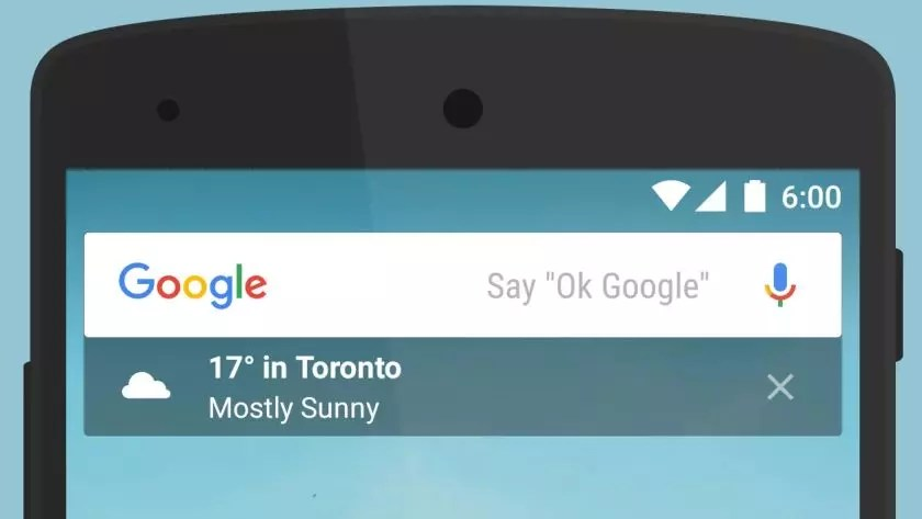 widget google android