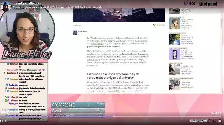 laurafloresciencia twitch