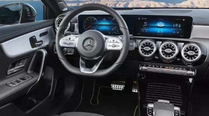Interior Mercedes A 250e