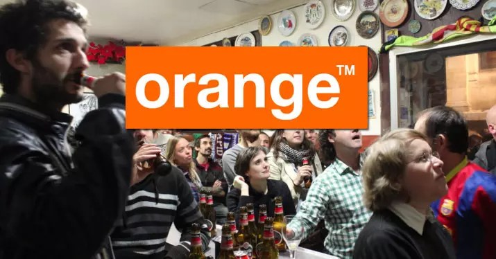 futbol bar orange