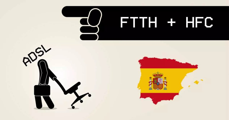 FTTH y HFC