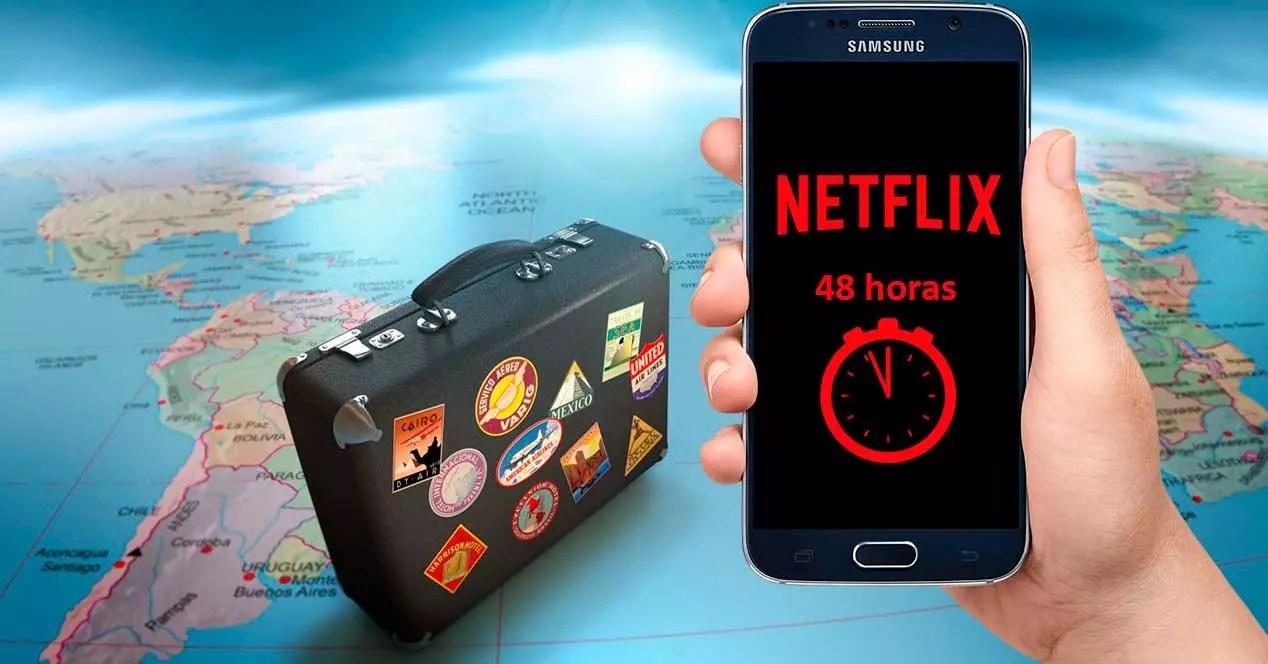 Por qu los vdeos descargados con Netflix offline solo duran 48 horas