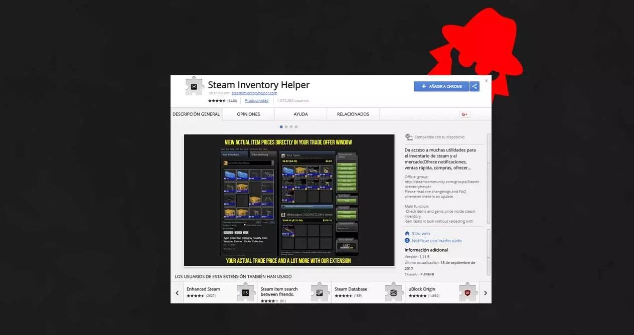 cuidado con steam inventory