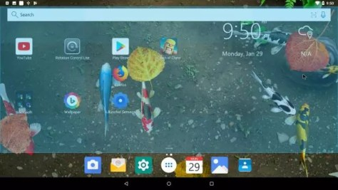 andex android oreo 8.1 para PC