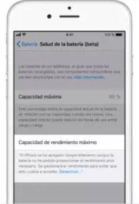 iPhone va más lento