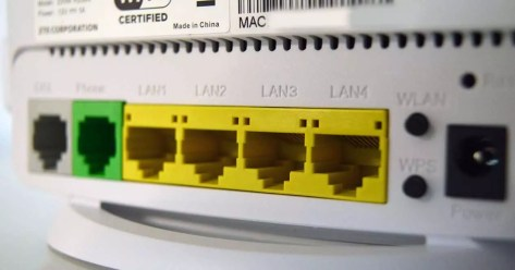 router wifi adsl centrales ADSL