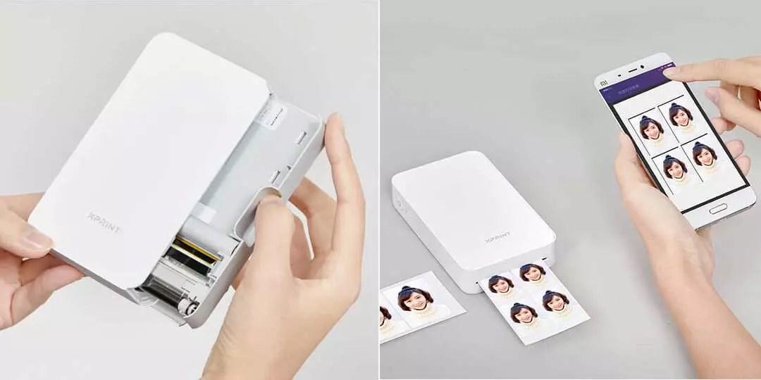 El nuevo gadget de xiaomi se puede usar como una polaroid for Pececillo nuevo de cualquier especie