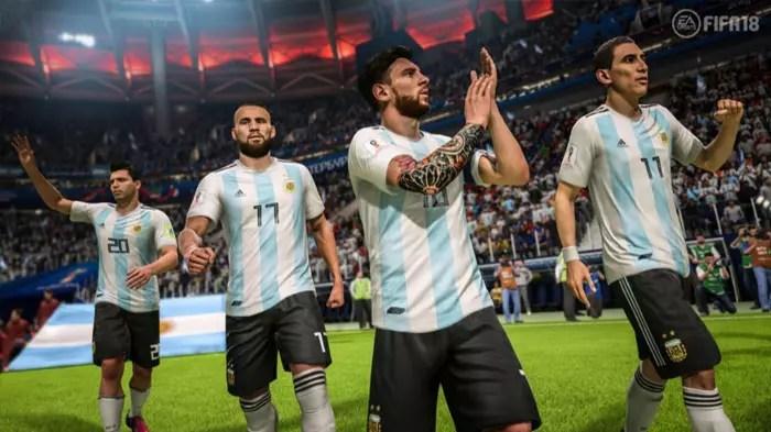 argentina fifa 18 mundial rusia