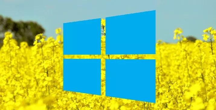 Windows 10 April 2018