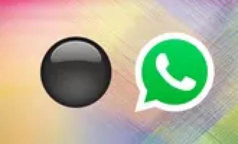 Por qué el círculo negro de WhatsApp bloquea tu móvil