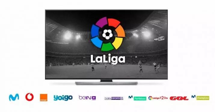 ver el fútbol en la tele