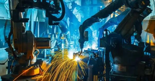 robot fabrica