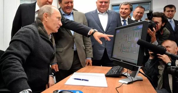 rusia desconectar Internet