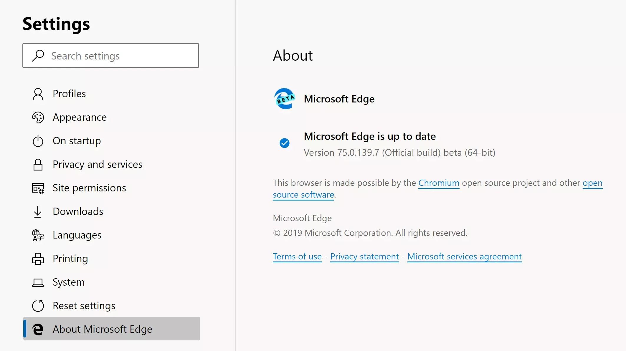 Edge Chromium Beta ya disponible por error: cómo descargar