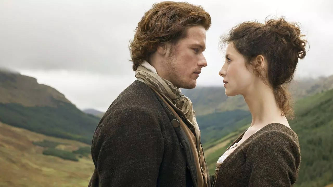 mejores series de amor - Outlander