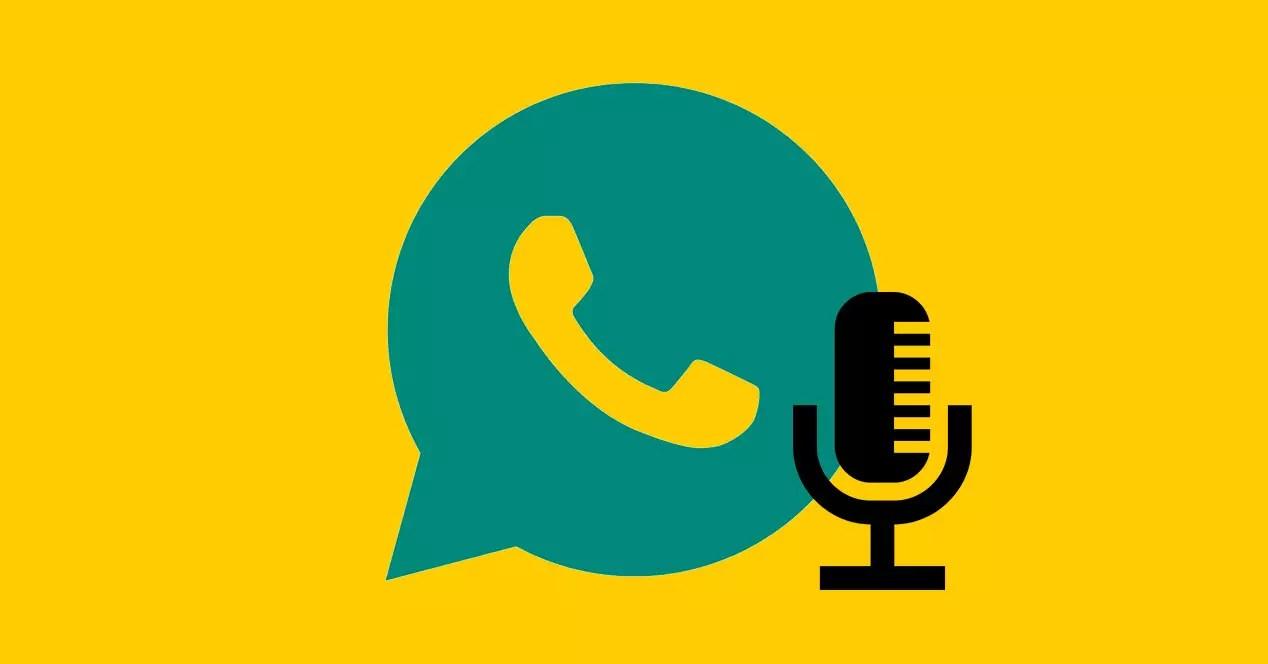 Escribir mensajes con la voz en WhatsApp
