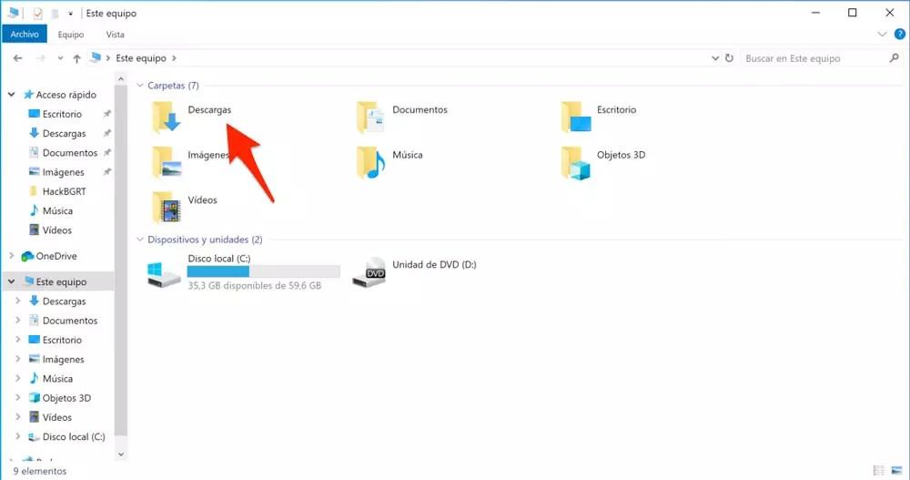 Cómo limpiar y liberar espacio en Windows 10 sin formatear