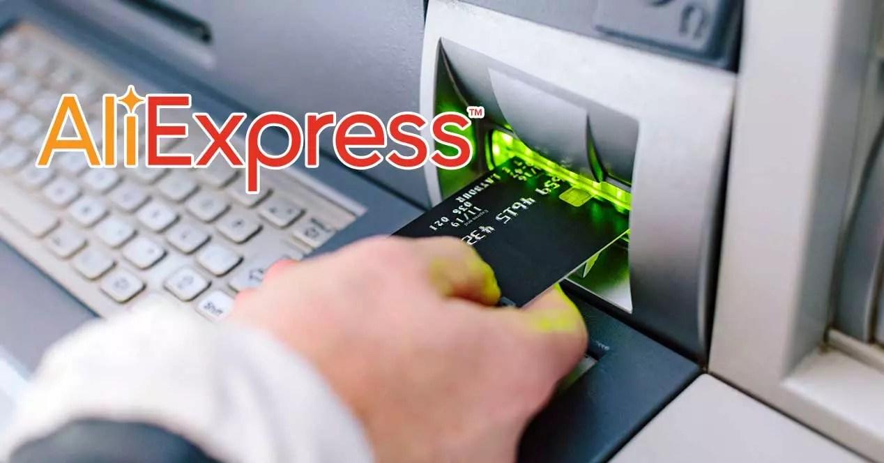 aliexpress tarjeta