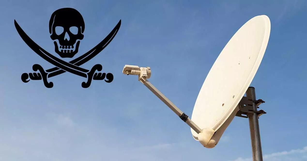 satelite pirateria