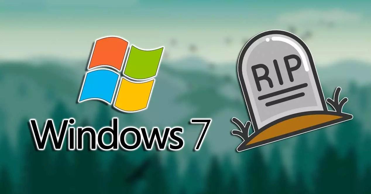 windows 7 rip 2020
