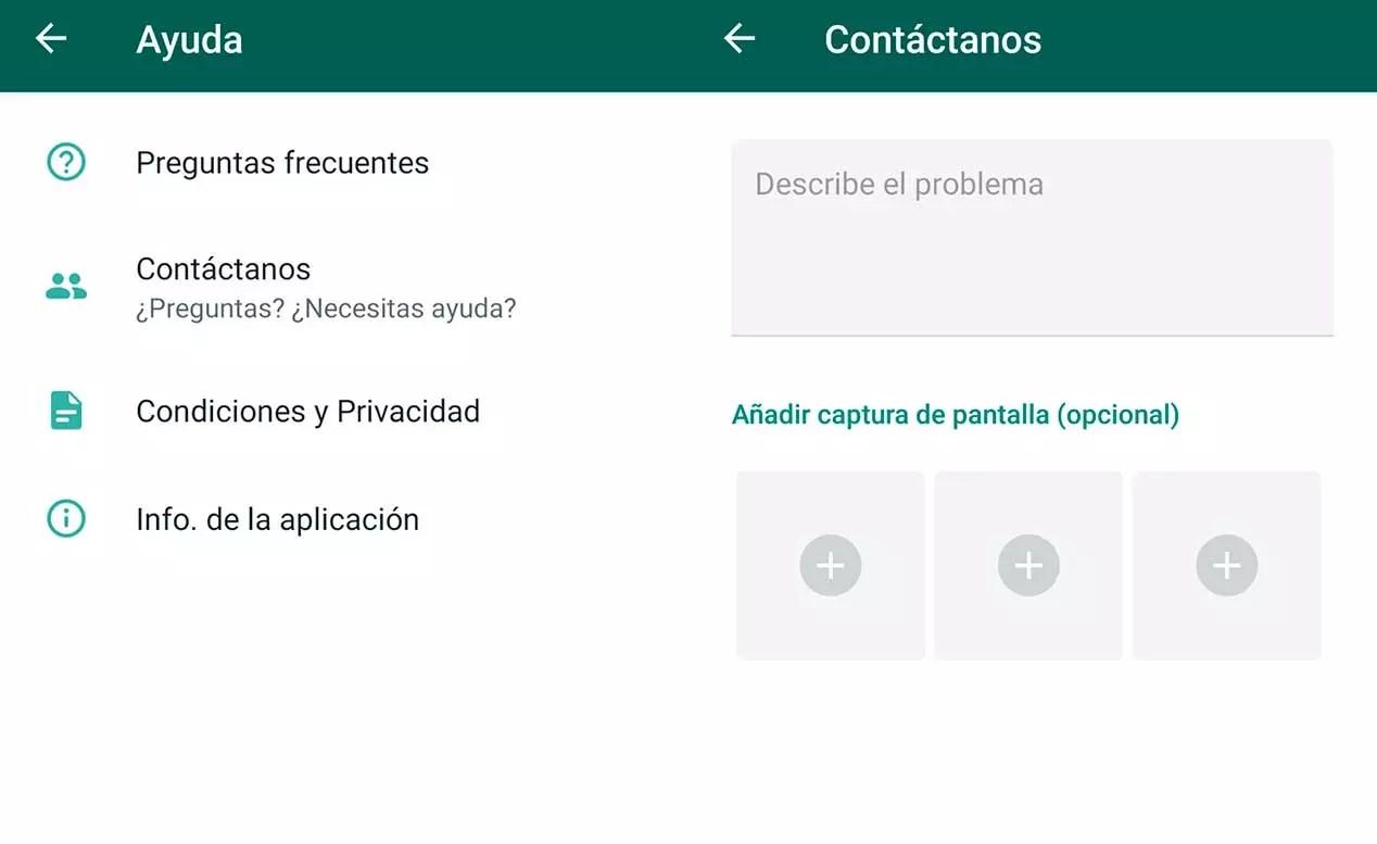 Denunciar delitos en Internet - WhatsApp