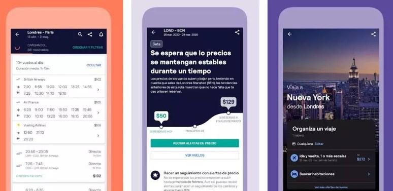 slyscanner apps para viajar