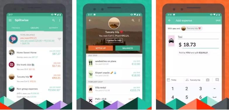splitwise apps para viajar