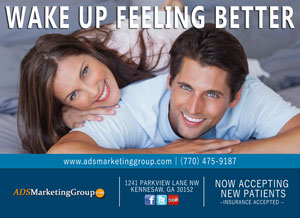Chiropractor marketing atlanta direct mail postcard