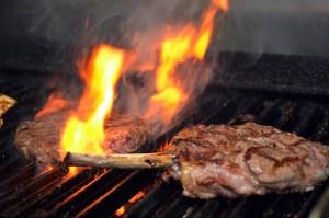 Steak porkchop restaurant photography
