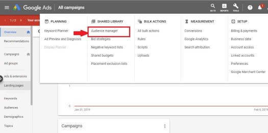How to set up Google Ad words Customer Match 1