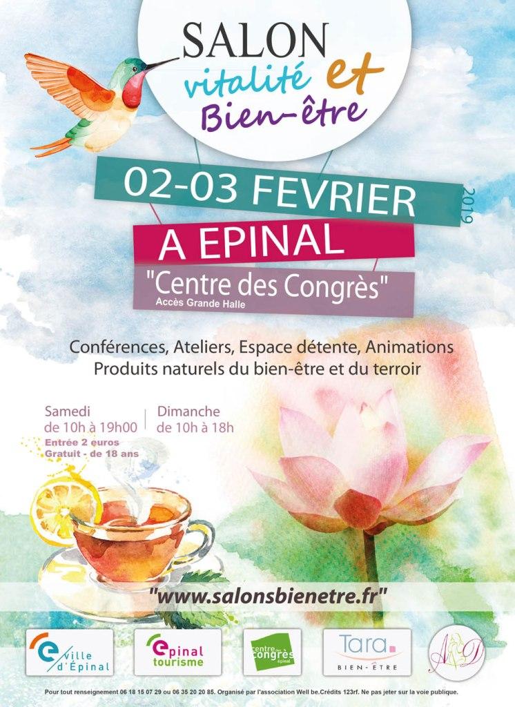 Salon vitalité et bien-être à Epinal 2019