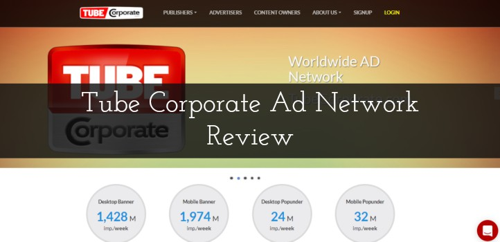 Tube Corporate Ad Network Review