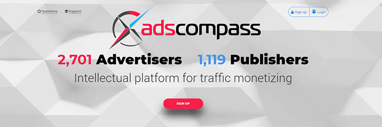 Adscompass Ad Network Review 2018 Compare Cpm Rates Earnings