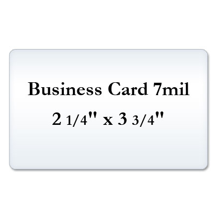Business Card 7 Mil Laminate Pouches, Small Laminating Pouches