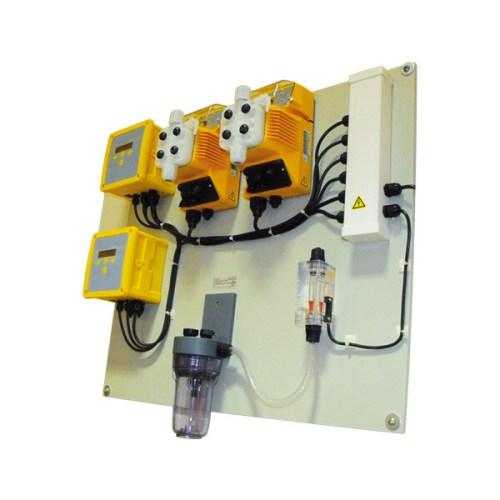 Compact Χλωριωτής και Ρύθμιση pH