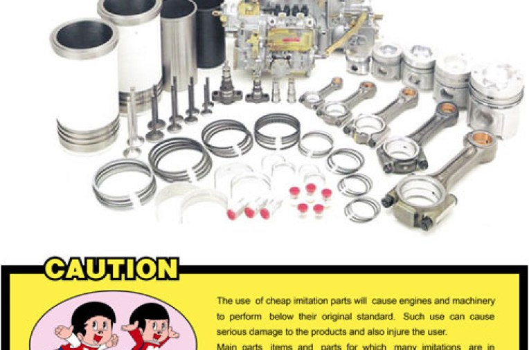 Yanmar Japan Genuine Spare Parts