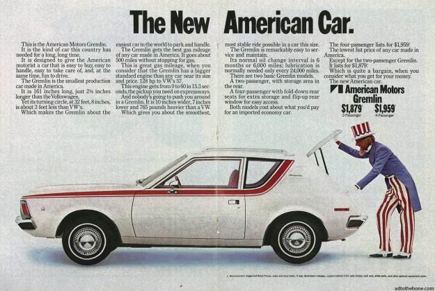 American Motors Gremlin magazine ad