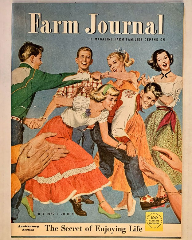 Cover of Farm Journal magazine, July 1952