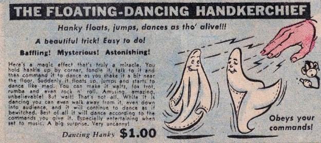 The Floating-Dancing Handkerchief