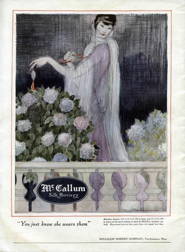 McCallum Silk Hosiery ad
