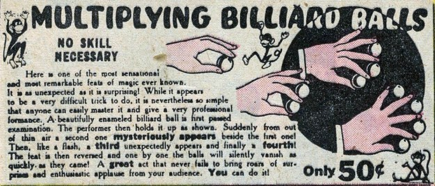 Multiplying Billiard Balls