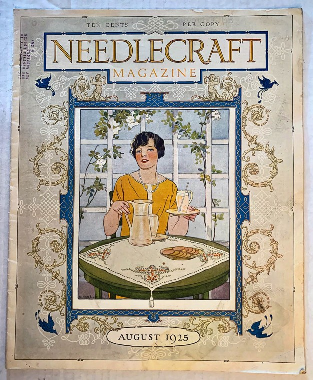 Needlecraft Magazine, August 1925