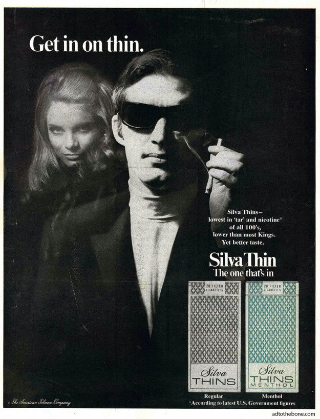 Silva Thin magazine ad - 1969